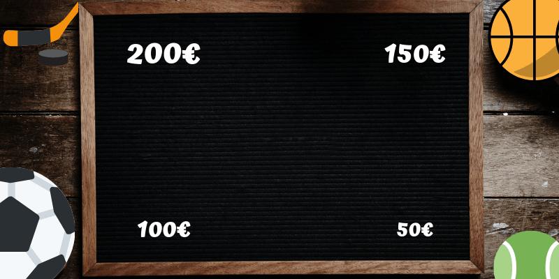 comparatif bonus paris sportifs promotions